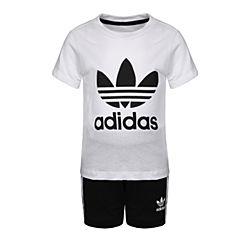 adidas Originals阿迪三叶草2018男婴童I SHORT TEE SET短袖套服CE1993