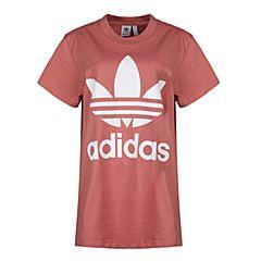 adidas Originals阿迪三叶草2018女子BIG TREFOIL TEE短袖T恤CE2439