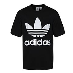 adidas Originals阿迪三叶草2018男子OVERSIZED TEE短袖T恤CW1211