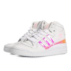 adidas Originals阿迪三叶草2018女子FORUM MID W三叶草系列休闲鞋D98180