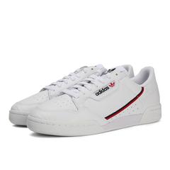 adidas阿迪達斯2019中性CONTINENTAL 80三葉草系列休閑鞋G27706