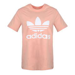 adidas阿迪三叶草2019女子TREFOIL TEE圆领短T恤DV2587