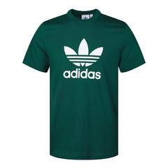adidas Originals阿迪三葉草男子TREFOIL T-SHIRT圓領短T恤GJ8295