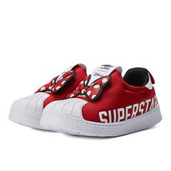adidas originals阿迪三葉草2021女嬰童SUPERSTAR 360 X I迪士尼聯名米妮休閑鞋FX4903