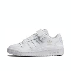 adidas originals阿迪三葉草2021中性大童FORUM LOW J休閑鞋FY7973
