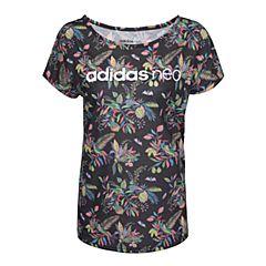 adidas阿迪休闲2017年新款女子Lifestyle系列圆领T恤BP6438