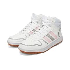 adidas neo阿迪休閑2021女子HOOPS 2.0 MID籃球休閑鞋FY6020