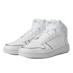 adidas neo阿迪休閑2021女子HOOPS 2.0 MID籃球休閑鞋FY6023