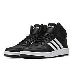 adidas neo阿迪休閑2021男子HOOPS 2.0 MID籃球休閑鞋FY8618