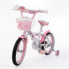 芭比儿童自行车儿童单车16寸 非折叠小孩单车