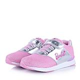 BARBIE/芭比童鞋2015春季新款PU/织物粉色女中童运动鞋DA1322