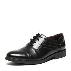 BASTO/百思图春季专柜同款牛皮商务正装男单鞋AVZ04AM6
