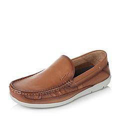 Bata/拔佳2017夏季专柜同款男舒适平底套脚休闲鞋(软)85F06BM7