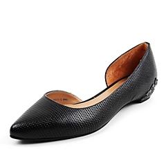 Belle/百丽春季专柜同款黑羊皮女凉鞋DU33DAK6