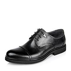 Belle/百丽专柜同款秋季牛皮商务男皮鞋4MX01CM6