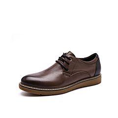 Belle/百丽秋季专柜同款牛皮男皮鞋B3H05CM7
