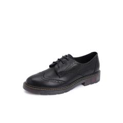 Belle/百丽羊皮革休闲马丁鞋满帮女单鞋12060CM8