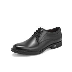 Belle/百丽婚鞋2019年春新商场同款商务正装鞋牛皮革男德比皮鞋B8307AM9