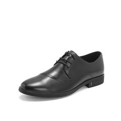 Belle/百丽商务正装鞋2019春季专柜同款牛皮革男皮鞋5YB01AM9