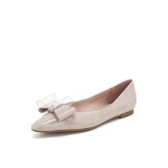 Belle/百丽2019年春季新商场同款漆牛皮革女休闲鞋T4E1DAQ9