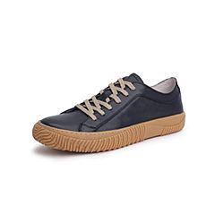 Belle/百丽青春休闲鞋2019年春新商场同款牛皮革男皮鞋5YW01AM9