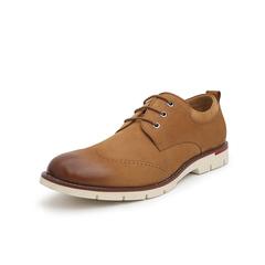 Belle/百丽工装鞋2019春季新商场同款磨?#33453;?#30382;革男皮鞋5YN01AM9