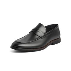 Belle/百丽乐福鞋2019春季新牛皮革男商务皮鞋71501AM9