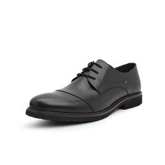 Belle/百丽婚鞋2019年春新商务正?#33453;?#30382;革男皮鞋13866AM9