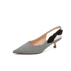Belle/百丽2019夏季新商场同款格利特/羊绒皮革女皮凉鞋T6H1DBH9