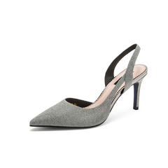 Belle/百丽高跟鞋2019夏季新商场同款格利特细高跟女凉鞋T6J1DBH9