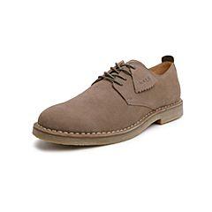 Belle/百丽工装鞋2019春季新商场同款磨?#33453;?#30382;革休闲男皮鞋5ZR01AM9