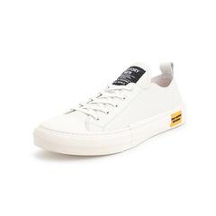 Belle/百丽青春运动风板鞋2019?#30007;?#27454;牛皮革男休闲鞋11153BM9