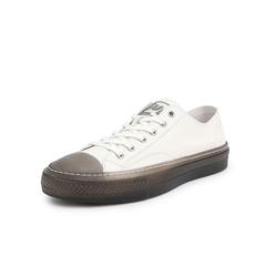 Belle/百丽青春运动风板鞋2019?#30007;?#27454;牛皮革男休闲鞋81127BM9