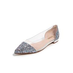 Belle/百丽平底单鞋2019?#30007;?#27454;胶片/纺织品/人造革女鞋BSWC1BQ9