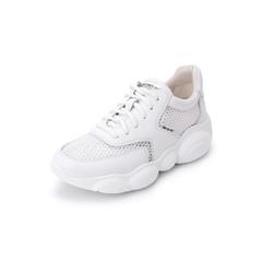 Belle/百丽松糕旅游鞋2019春新商场同款牛皮革女老爹鞋休闲鞋3B220AM9