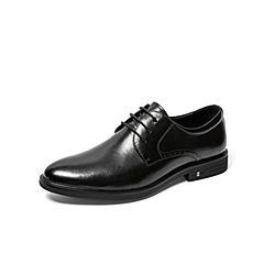 Belle/百麗婚鞋2019秋新商場同款商務正裝牛皮革男皮鞋6BR01CM9