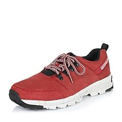 CAT/卡特专柜同款秋冬红色男子牛皮休闲鞋活跃装备(Active)P719000