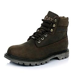 CAT卡特专柜同款秋冬青男子牛皮休闲靴粗犷装备(Rugged)P717961