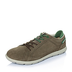 CAT卡特年春夏青褐色牛皮男士休闲鞋潮流密码(CODE)P719785F1KMC45