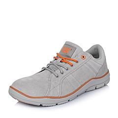 CAT/卡特年春夏灰色牛皮男士休闲鞋活跃装备(Active)P719708F1LMA06