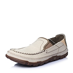 CAT卡特春夏专柜同款灰白织物男休闲鞋休闲装备(Casual)P714830F1EMS08