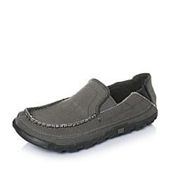 CAT卡特年春夏深灰色织物男士休闲鞋休闲装备(Casual)P714830F1EMS08
