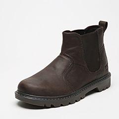 CAT/卡特秋冬深棕色牛皮男士户外休闲鞋粗犷装备(Rugged)P720303F3FDR36