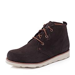 CAT/卡特秋冬 专柜同款浅棕色牛剖层男士户外休闲鞋粗犷装备(Rugged)P714236F3EDR71