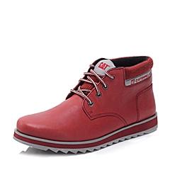 CAT/卡特秋冬 专柜同款酒红色男士户外休闲鞋活跃装备(Active)P720858F3EDC47