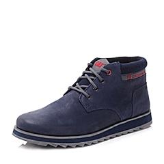 CAT/卡特秋冬 专柜同款深蓝色男士户外休闲鞋活跃装备(Active)P720858F3EDC47