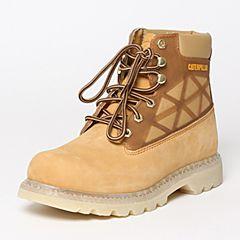 CAT/卡特秋季专柜同款黄色牛皮/织物男户外休闲鞋粗犷装备P720371F3BDR25