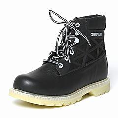 CAT/卡特秋季专柜同款黑色牛皮/织物男户外休闲鞋粗犷装备P720373F3BDR09
