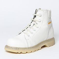 CAT/卡特秋季专柜同款白色牛皮/织物男户外休闲鞋粗犷装备P720375F3BDR10