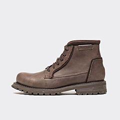 CAT/卡特秋季专柜同款褐色牛皮/牛剖层革男户外休闲鞋粗犷装备P720675F3UDR33